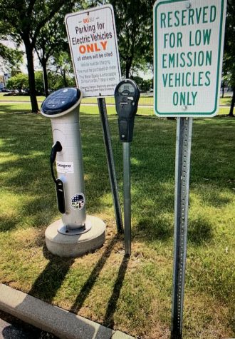 Parking spots exclusively for electric vehicles have popped up across the country.