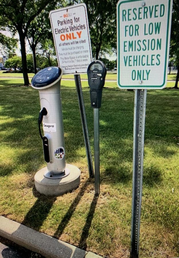 Parking+spots+exclusively+for+electric+vehicles+have+popped+up+across+the+country.